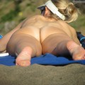 Nude girls on the beach - 190