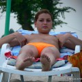Topless girls on the beach - 149