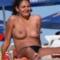 Topless girls on the beach - 244