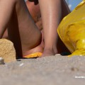 Nude girls on the beach - 150 - part 2