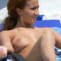 Topless girls on the beach - 219