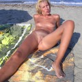 Hungry pussies on the beach - a selection - 2
