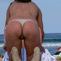 Topless girls on the beach - 221
