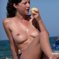 Topless girls on the beach - 180