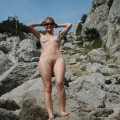 Nude girls on the beach - 383 - hairy