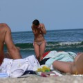 Topless girls on the beach - 288