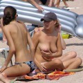 Topless girls on the beach - 034