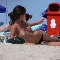 Topless girls on the beach - 249