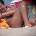 Topless girls on the beach - 132