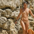 Nudist belly chain nudist girl 02