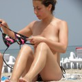 Topless girls on the beach - 113