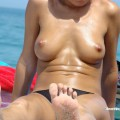 Topless girls on the beach - 098 - part 1