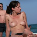 Topless girls on the beach - 248