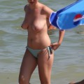 Topless girls on the beach -  011