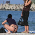 Topless girls on the beach - 106 - part 3