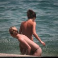Topless girls on the beach - 104