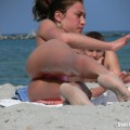 Topless girls on the beach - 028