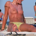 Topless girls on the beach - 126 - part 2