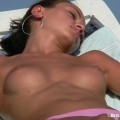 Topless girls on the beach - 017