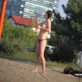 Topless girls on the beach - 093