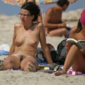 Nude girls on the beach - 382 - hairy