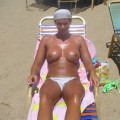 Topless girls on the beach - 043