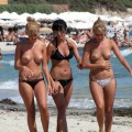 Topless girls on the beach - 181