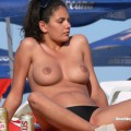 Topless girls on the beach - 279