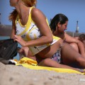 Topless girls on the beach - 239