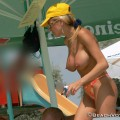 Topless girls on the beach - 286 - big tits