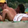 Topless girls on the beach - 176