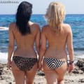 Beach - clara and leah 1
