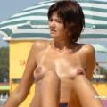Topless girls on the beach - 050