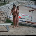 Topless girls on the beach - 103
