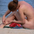 Nude girls on the beach - 305 - part 2