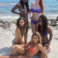 Beach - rachel and friends 1