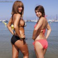 Beach - stacey and sarah 2