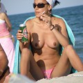 Topless girls on the beach - 168