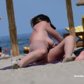 Topless girls on the beach - 213