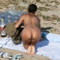 Nude girls on the beach - 254 - small tits