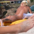 Nude girls on the beach - 205