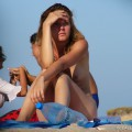 Topless girls on the beach - 146