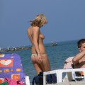 Topless girls on the beach - 090