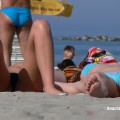 Topless girls on the beach - 174