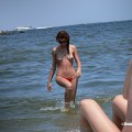 Topless girls on the beach - 278