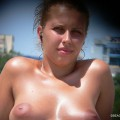Topless girls on the beach - 254