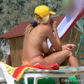 Topless girls on the beach - 059