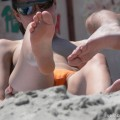 Topless girls on the beach - 211