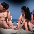 Topless girls on the beach - 153