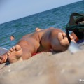 Nude girls on the beach - 400